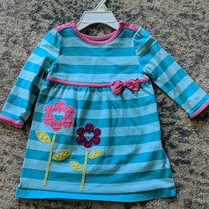 3/$15 Striped flower play dress